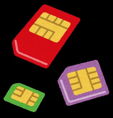 情報さらだ SIMカード